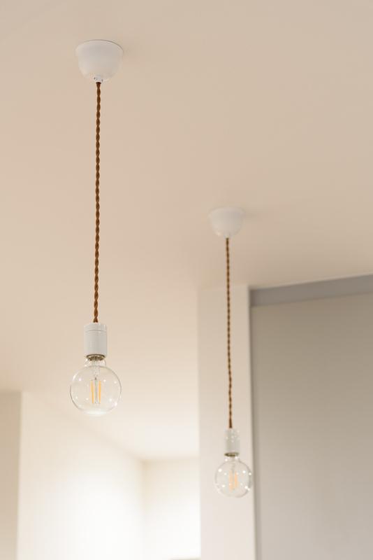 ペンダントライト DIY かわいい キッチン カウンター 電球色