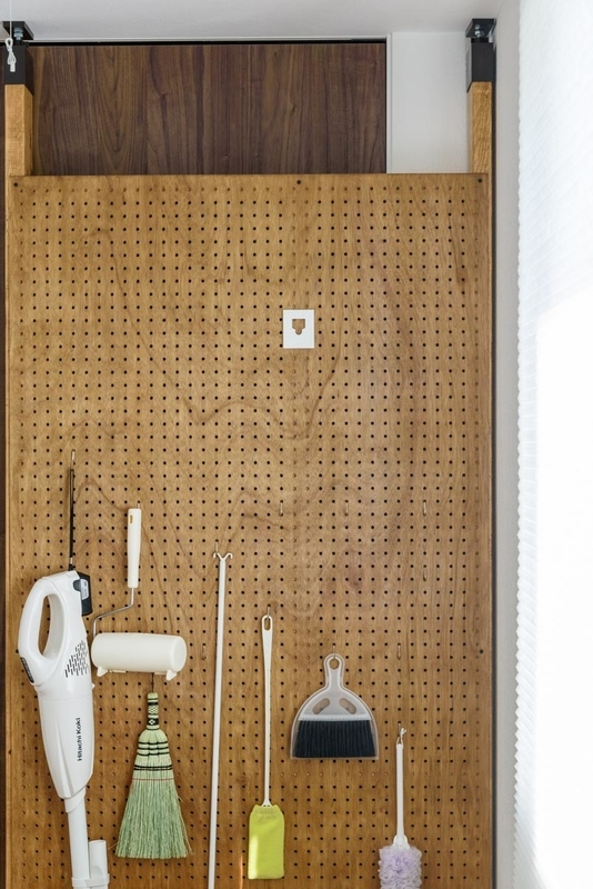 DIY 有孔ボード パンチングボード 壁 ラブリコ ツーバイフォー 2×4 pid4m 森田アルミ工業 室内物干しワイヤー