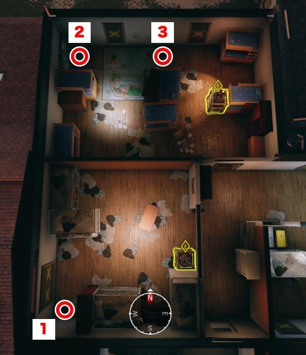 オレゴン(2F子供部屋・共同寝室(大))ディフューザー設置箇所