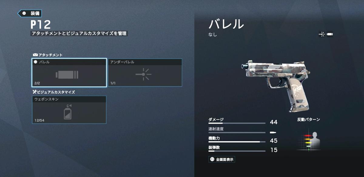Wamai(ワマイ)- P12 ハンドガン
