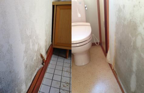 トイレと玄関
