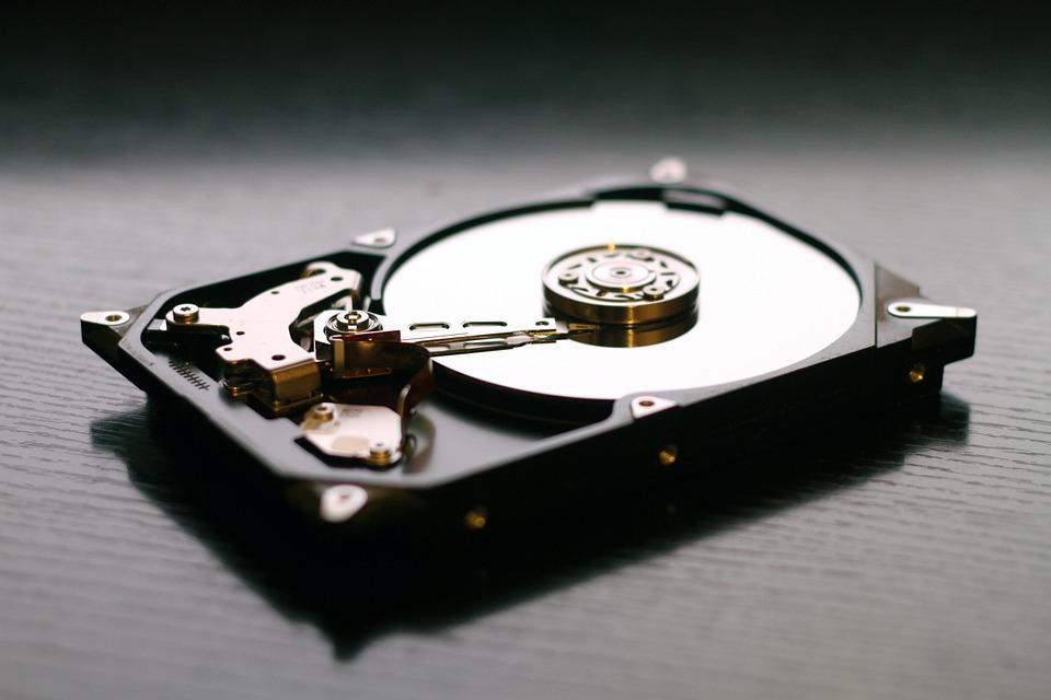 ハードディスクの処理、セキュリティ
