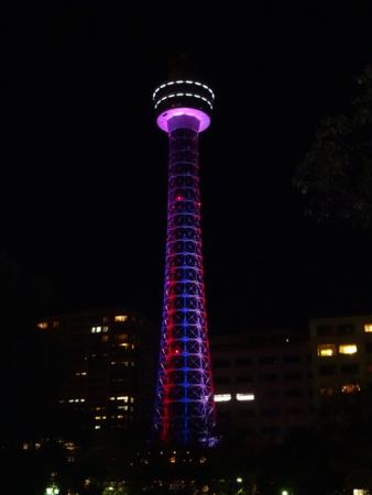 そもそも観に来たのはこれ。マリンタワー。