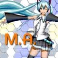 M.A. Album Cover