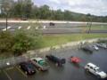 Hurricane Irene: Parking Lot Flooded