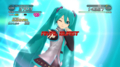 """Hatsune Miku in """"THE iDOLM@STER 2"""" for the PlayStation®3 as a DLC"""
