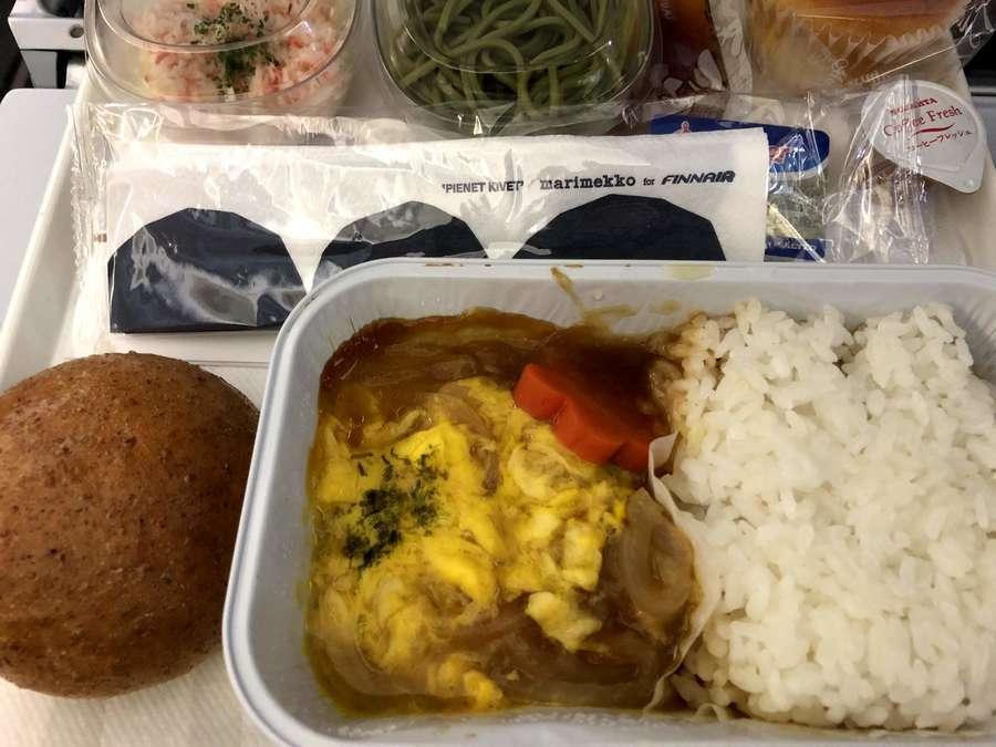 フィンランド航空の機内食