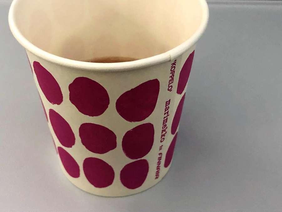 マリメッコのコッペロ(Koppelo)柄の紙コップ