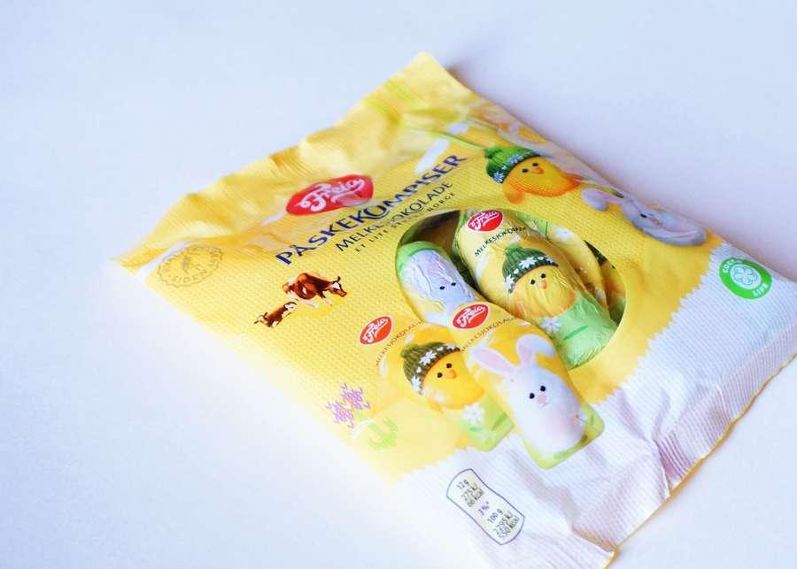 フレイアのイースターのお菓子のパッケージ