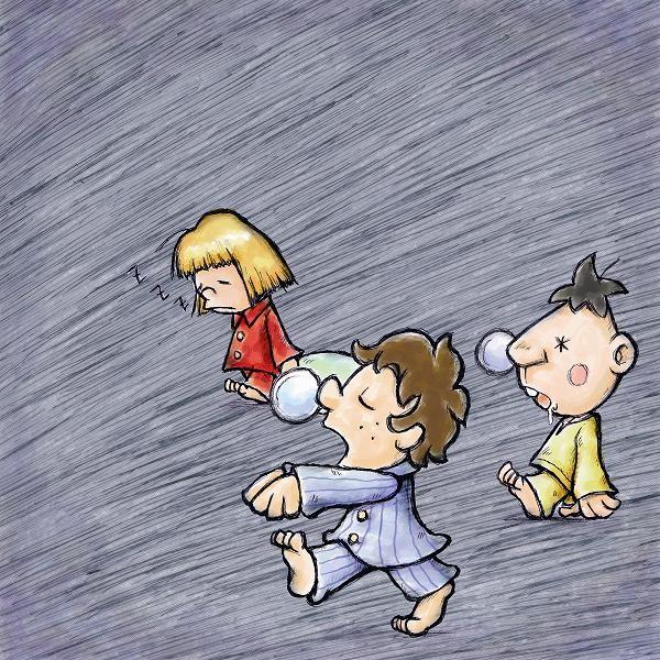 夢遊病の子供たち