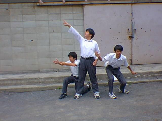 ビースティ・ボーイズ(中学時代)