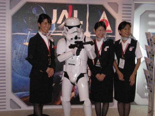 JALのおねえさんたち