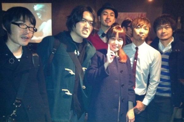 THE HAMMOND CONNECTIONの島田さんと。