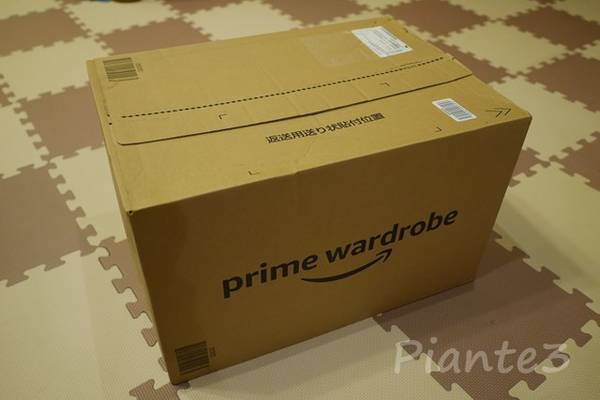 AmazonPrimeWardrobe到着した段ボール