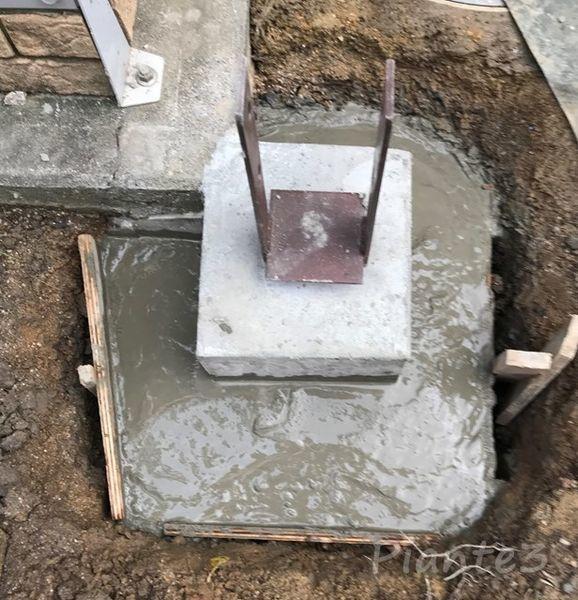 DIY基礎コンクリート根巻き