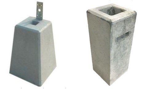 コンクリート製の基礎ブロック