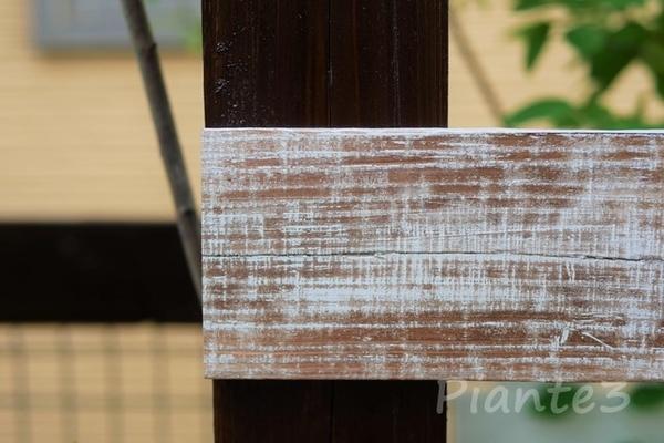 板張り開始位置が柱端の写真
