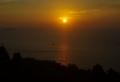 [夕日][海]落ちる夕日