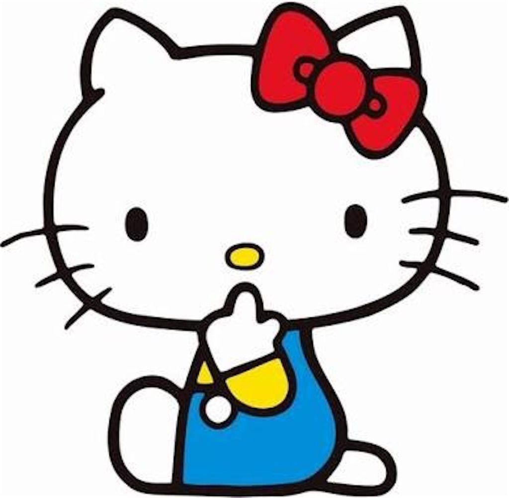 猫キャラクターキティーちゃん