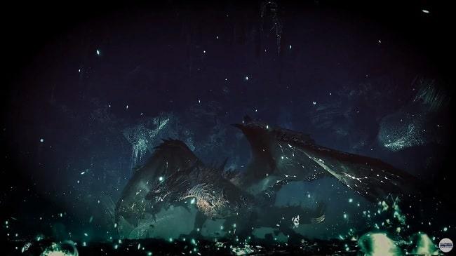謎のドラゴン