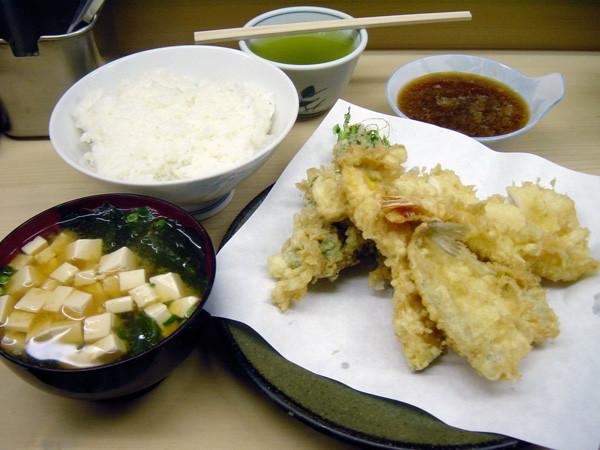 いもや 天ぷら定食