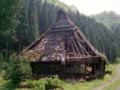 山奥の廃屋