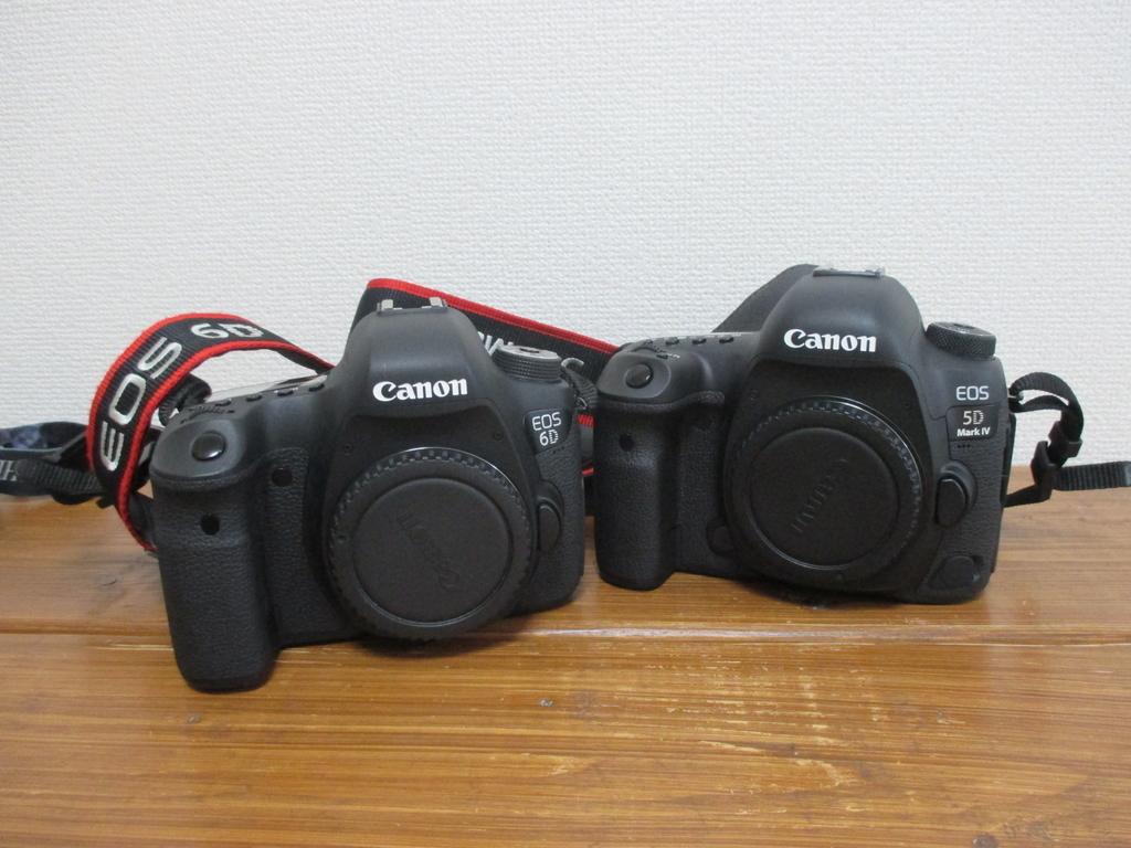 CANON EOS5Dmark4とCANON EOS6D