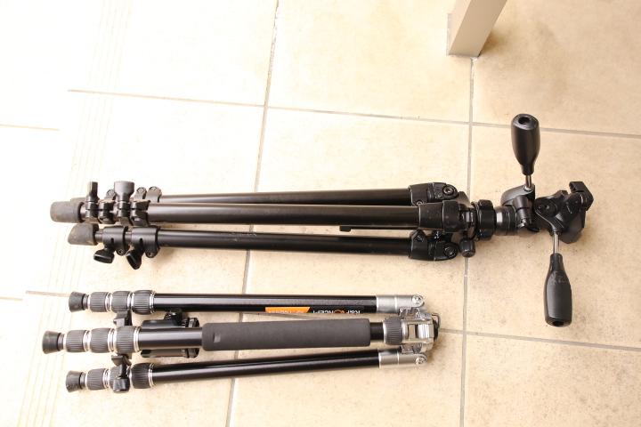 K&F Concept KF-TM2534とSLIK ABLE300EXの比較