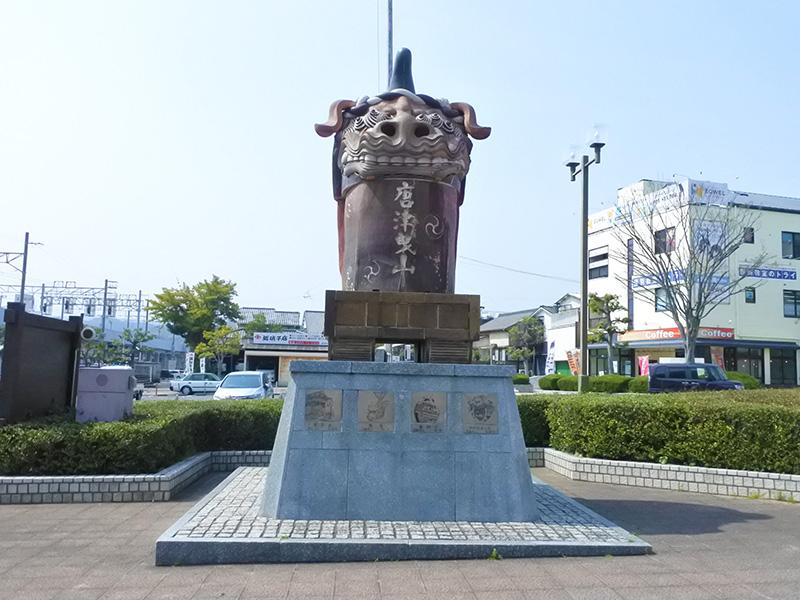 ユーリ 唐津 YOI 曳山像