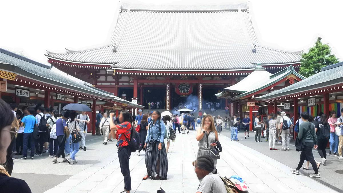さらざんまい 聖地巡礼 浅草寺