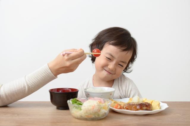 野菜を嫌がる子供