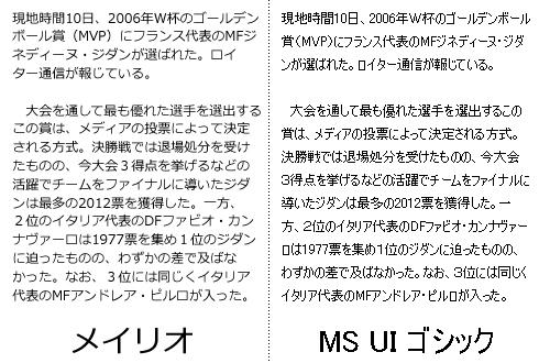 Windows10のフォントをメイリオに変更しよう
