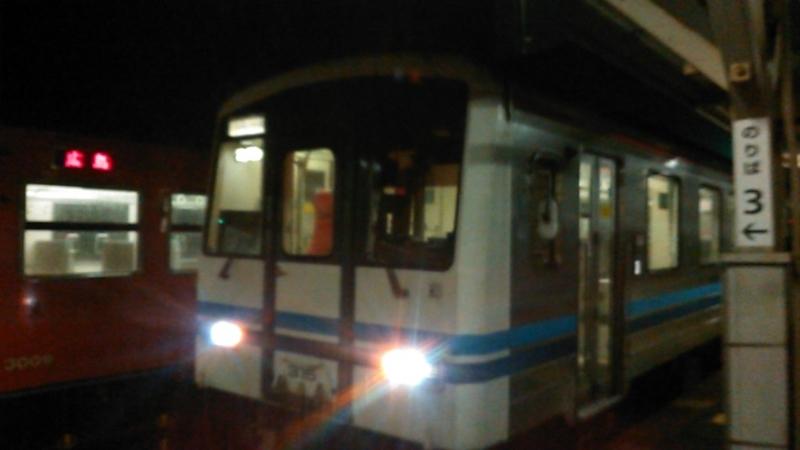 2018年 3月 5日・三江線三次駅