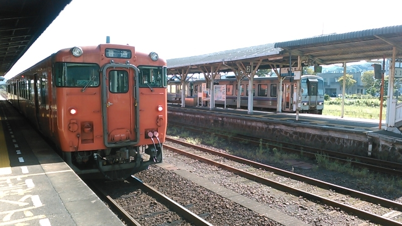 2019年 9月 3日・長門市駅(山陰本線&美祢線)