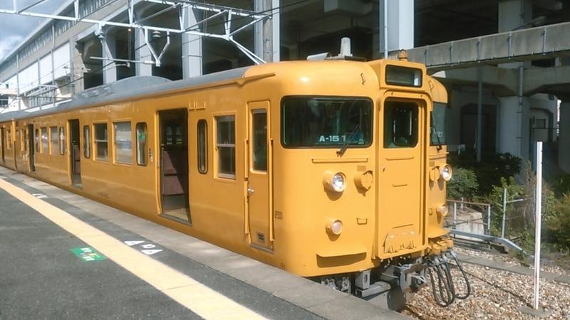 2019年 9月 4日・山陽本線相生行き