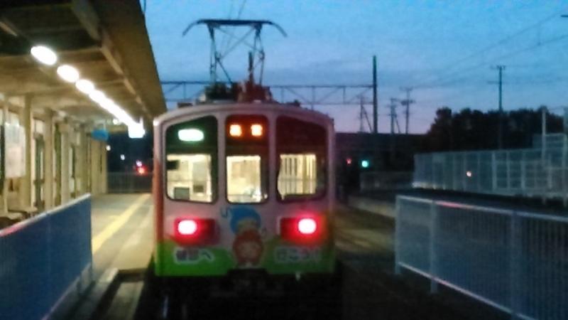 2019年11月22日・近江鉄道(多賀大社前駅)