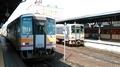 2020年 9月 8日・姫新線津山駅