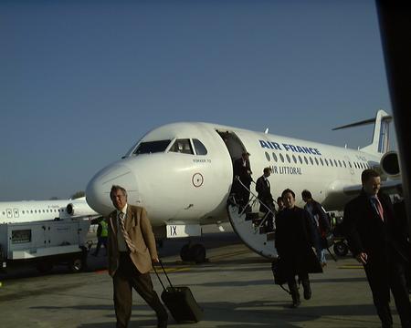 F70inシャルルドゴール空港