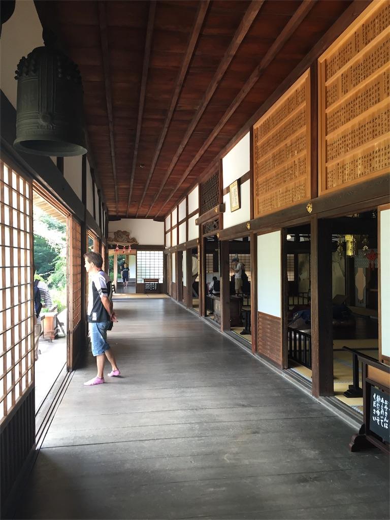 龍潭寺廊下