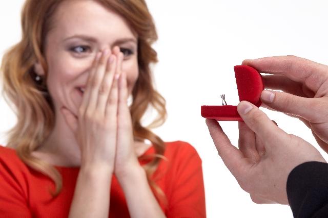 結婚指輪でプロポーズ