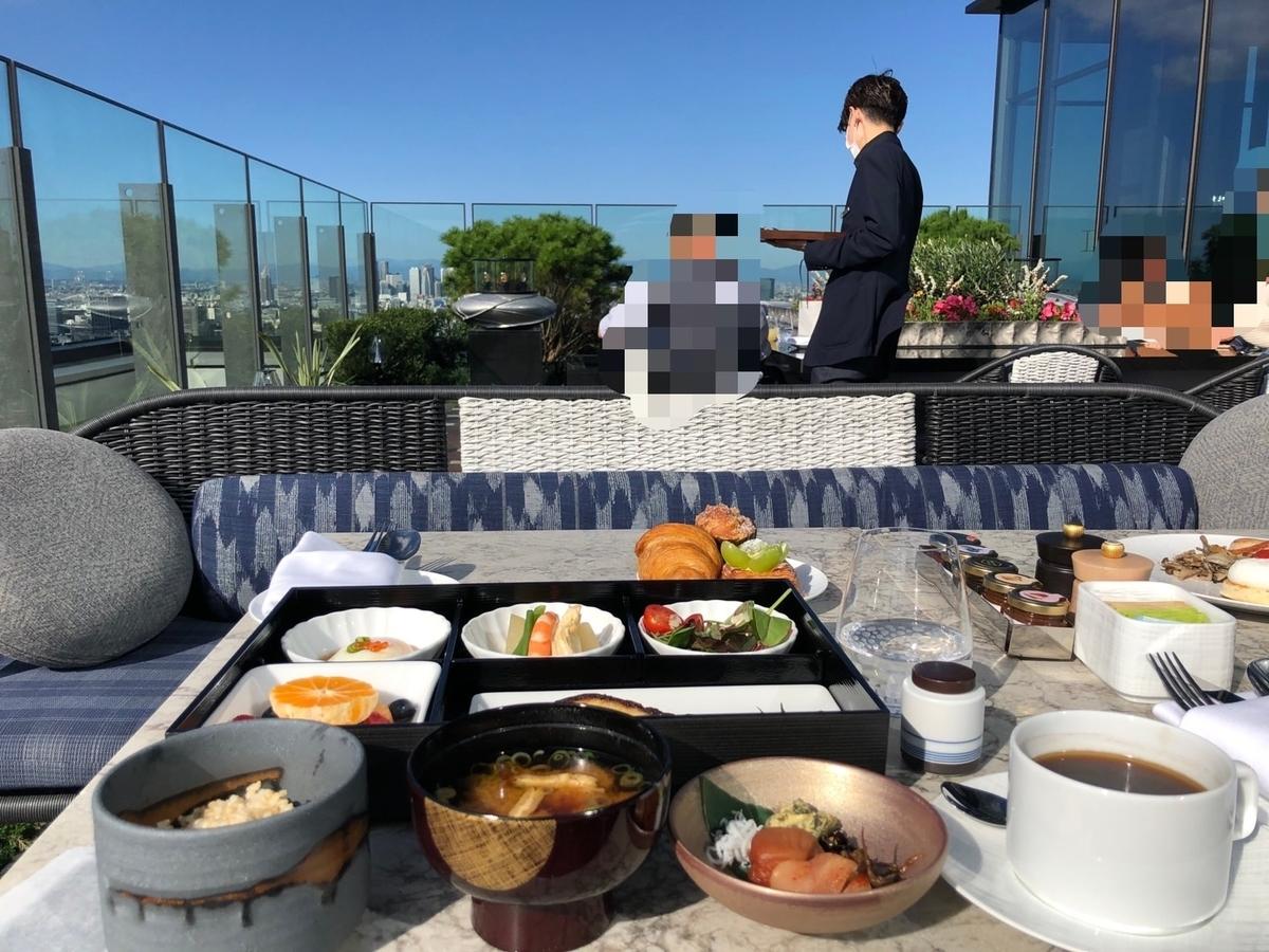 フォーシーズンズ大手町 朝食 ブログ
