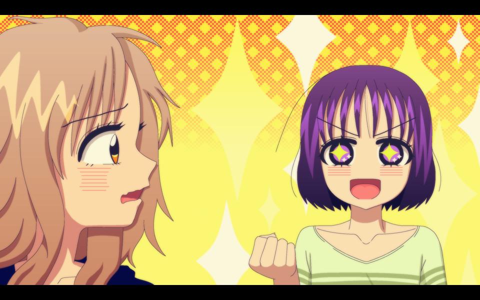 「お姉ちゃんは過保護!」アニメスクショ風FA