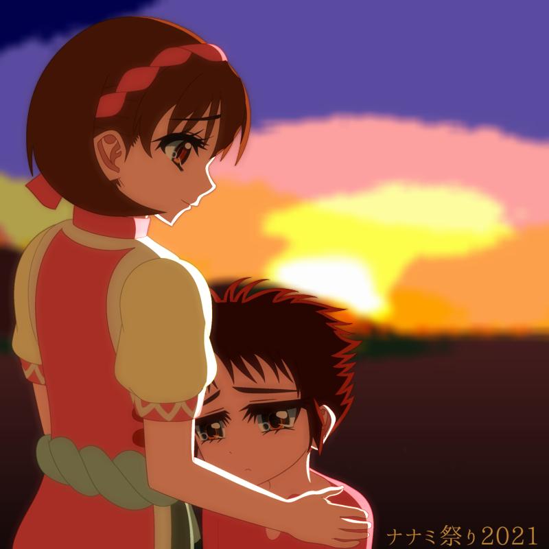 「幻想水滸伝Ⅱ」ナナミ&ピリカFA