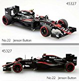 EBBRO 1/43 McLaren Honda MP4-30 2015 Middle Season Version No.22 Jenson Button