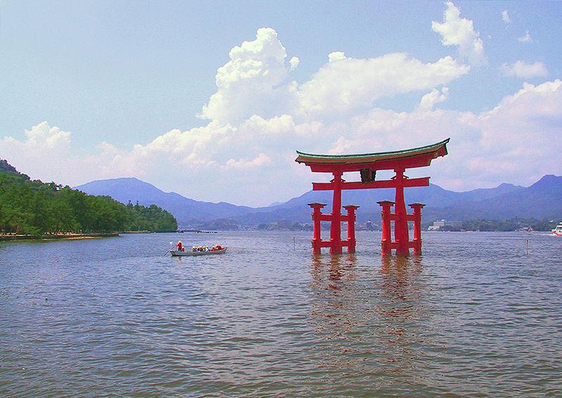 嚴島神社/大鳥居