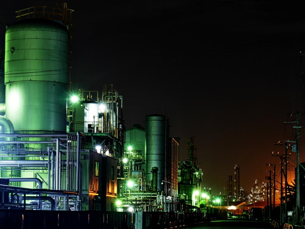 LEICA 12-60mm | 作例 | 川崎千鳥町 工場夜景 3