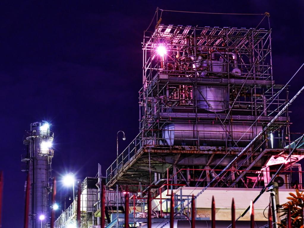 LEICA 12-60mm | 作例 | 川崎千鳥町 工場夜景 6
