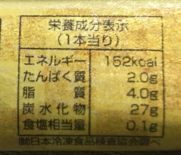 天狗堂「函館銘菓 匠のくるみ餅」の栄養成分表示カロリー