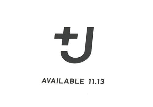 ユニクロとジルサンダーのコラボレーションコレクションの+Jのロゴ画像
