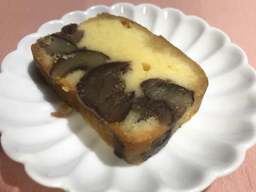 足立音衛門の京都本店限定の丹波栗のケーキの画像